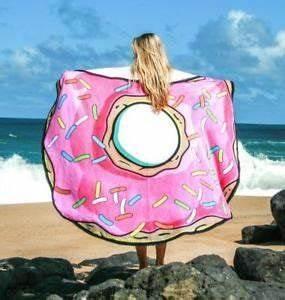 Grande Serviette De Plage Ronde : 150 cm grande donut ronde en microfibre de plage vacances serviette de bain l ger camping gym ~ Teatrodelosmanantiales.com Idées de Décoration