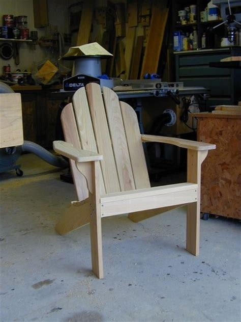 adirondack chair by sawdustonmyshoulder lumberjocks