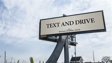 This Darkly Clever Billboard For A Funeral Home Leaves