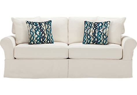 home beachside blue denim sofa home beachside denim sofa sofas