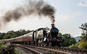 Steam Train Wallpaper Desktop - WallpaperSafari