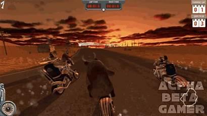Cool Biker Badass Alpha Gamer Temporary Racing