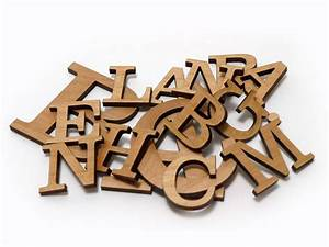 small wood sign letters in any font woodland manufacturing With pre cut metal letters