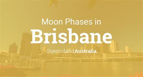 moon phases  lunar calendar  brisbane queensland australia