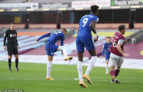 Burnley 0-3 Chelsea: Hakim Ziyech scores on his first ...
