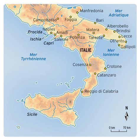 Carte Du Sud De La Et Italie by Voyage Naples Et Sud Italie Sur Mesure Comptoir De L
