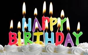 Free Download: Birthday Cakes With Candles