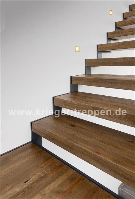 Geländer Treppe Holz by Stahl Holztreppen Krieger Treppen