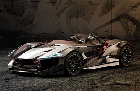 Awesome Vapour Gt Concept Car Features Wind Sculpted Edges