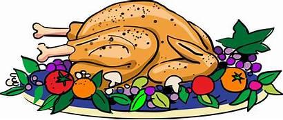 Clipart Turkey Dinner Roast Clipartpanda Thanksgiving Roasted
