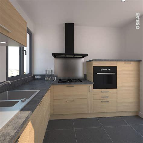 cuisine bois clair cuisine en bois clair structuré stilo noyer blanchi cuisine