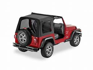 Bestop Jeep Wrangler Sunrider Complete Replacement Soft