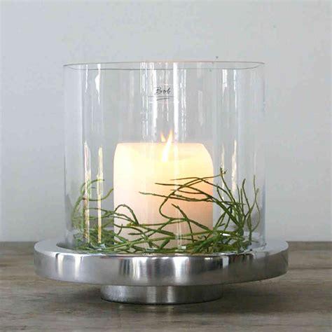 Große Windlichter Glas by Glas Voor Windlicht Brocante Mandje Met Glas Voor