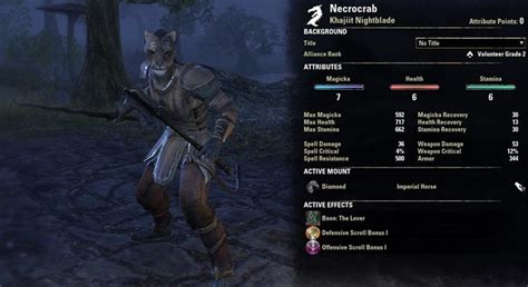 eso nightblade pve attributes dual weapon guide shadow skill character darkness