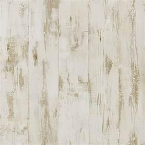 Papier Peint Imitation Pierre 4 Murs : papier peint bois vinyle sur intiss imitation bois vieilli beige ~ Dode.kayakingforconservation.com Idées de Décoration