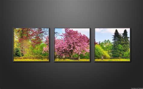ordinateur bureau windows 7 fonds d 39 écran paysage de printemps