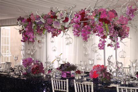 floral centerpiece bridges
