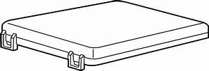 Mercury Marauder Fuse Box Cover  Upper   Engine Compartment  Fuse Box