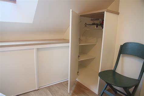 placard sous pente sur mesure nantes vannes lorient meuble sous pente