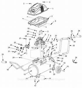Hitachi Air Compressor Parts Diagram