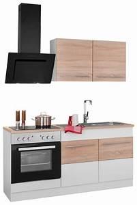 Küchenzeile 160 Cm : held m bel k chenzeile mit e ger ten trient breite 160 cm online kaufen otto ~ Markanthonyermac.com Haus und Dekorationen