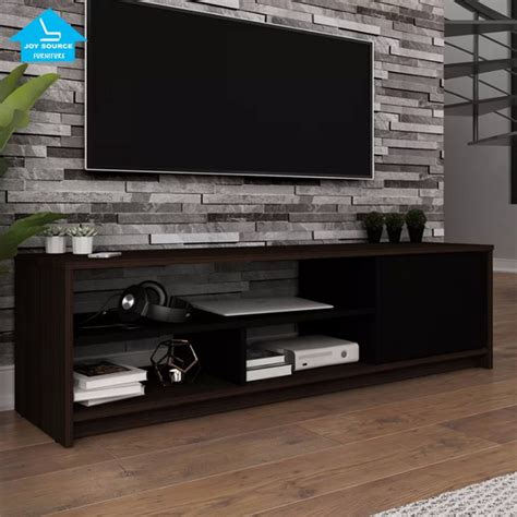 model modern design wooden  price tv rack cabinet