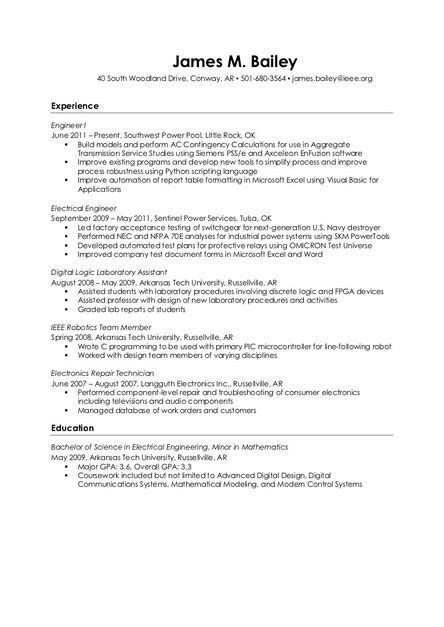 resume for audio visual enginer pin by resume on resume sles
