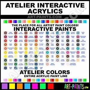 Atelier Interactive Acrylic Paint Colors - Atelier ...