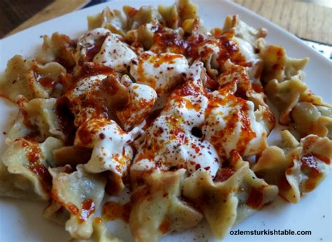 most popular cuisines manti dumplings with ground and