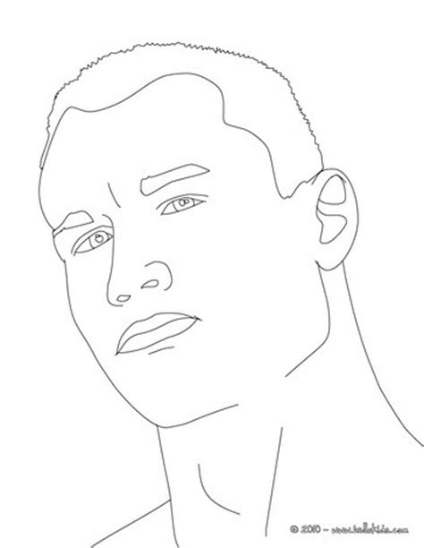 Randy Orton Drawing at GetDrawings.com | Free for personal use Randy Orton Drawing of your choice