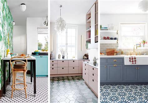 Patterned Kitchen Floor Tiles  Tile Design Ideas