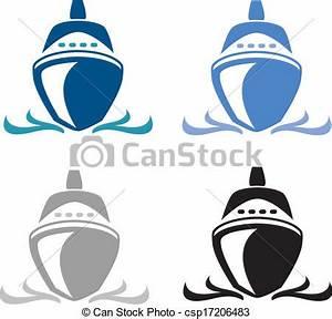 Vector - Cruise Ship - stock illustration, royalty free ...