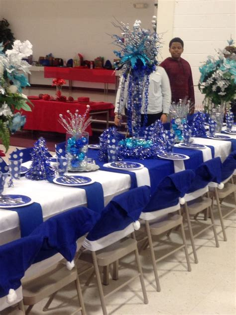 royal blue table decorations 26 best denise 39 s rainbow tea table decorations images on