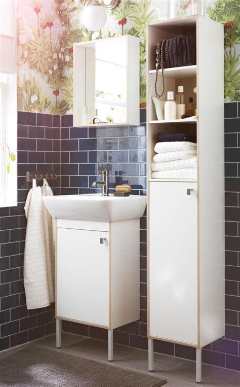 ikea tyngen bathroom furniture pulls double duty