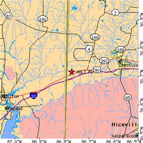 Holt, Florida (FL) ~ population data, races, housing & economy