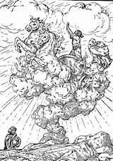 Elijah Coloring Whirlwind Children Bible Chariot Fire Taken Prophet Testament Individual Activities sketch template