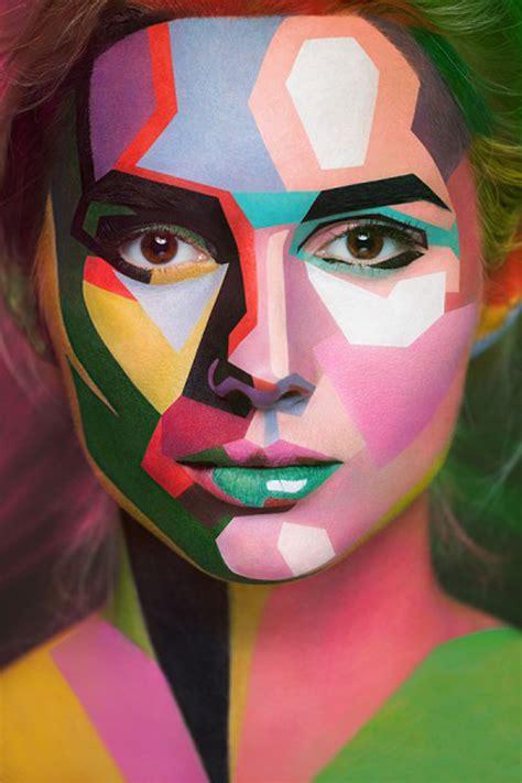 collection  face art portraits  alexander khokhlov