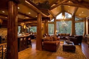 Log Homes Interior The Edgewood Difference Edgewood Log