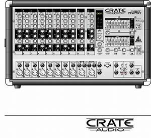 Crate Amplifiers Pm82s  Pm82t  Pm62s User Manual