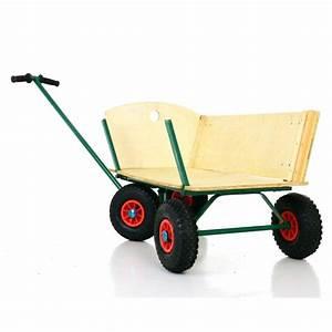 Chariot De Jardin 4 Roues Jardiland