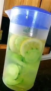 Lemon Cucumber Detox Water Recipe