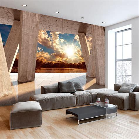 3d Tapete Vlies by Vlies Fototapete 3d Effekt Himmel Ausblick 3 Farben