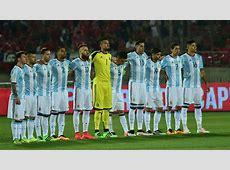 Chile v Argentina Eliminatorias WC Qualifying South