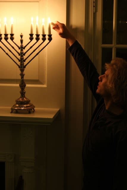 chabad candle lighting hanukkah candle lighting rohr center for