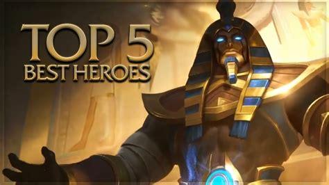 Top 5 Glorious Legends (best Heroes)