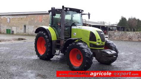 siege tracteur occasion claas ares 617 atz tracteur agricole d occasion 2006 4 rm