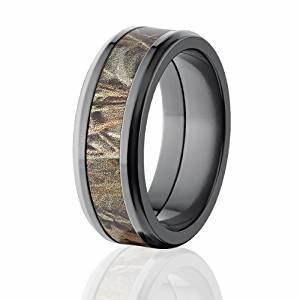 realtree max 4 camo rings camo bands camouflage wedding With max 4 camo wedding rings