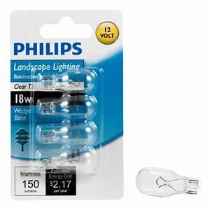 Philips landscape lighting watt t volt wedge