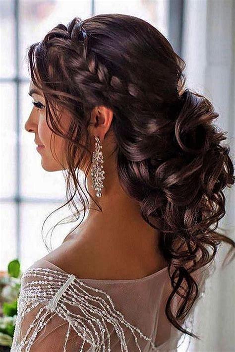 curly hair for wedding beautifulweddinghairstyles penteados em