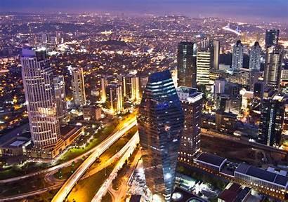 Istanbul Turkey Wikipedia Economy Levent Financial District